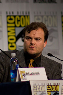 Goosebumps, Jack Black, SDCC 2014 07.jpg