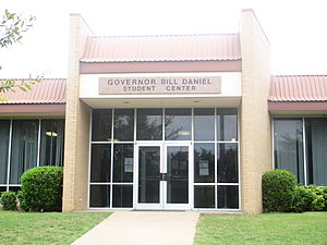 Hill College - Image: Governor Bill Daniel Student Center in Hillsboro, TX IMG 5573
