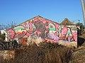 Graffiti on Derelict factory, Faro, 9 October 2015 (1).JPG