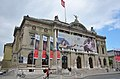 """Grand Theater Geneva in a very classic building style with """"Die Schopfung"""" flag at the facade - panoramio.jpg"""