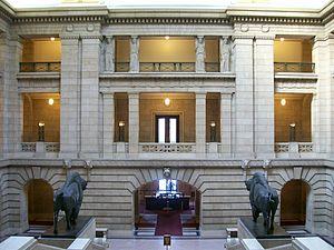 Manitoba Legislative Building - The Grand Staircase, North side