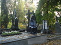 Grave of Jurij Niunko in the Euphrosyne Cemetery in Vilnius.JPG