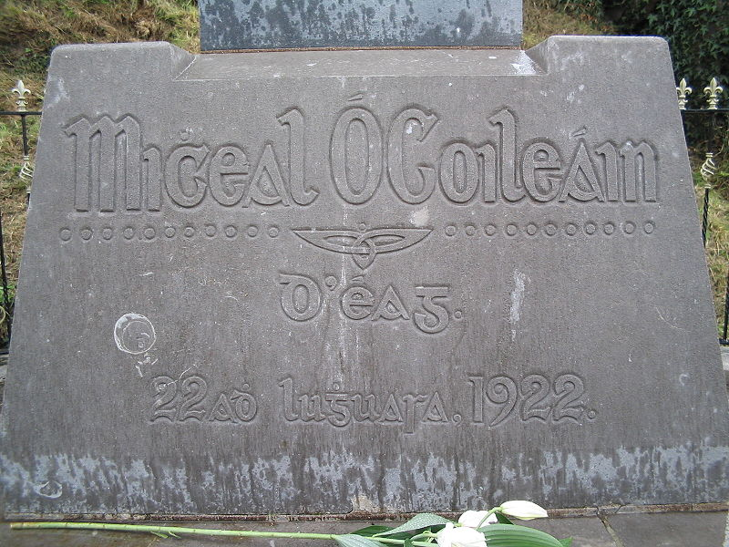 File:Grave of Micheál Ó Coileáin.jpg