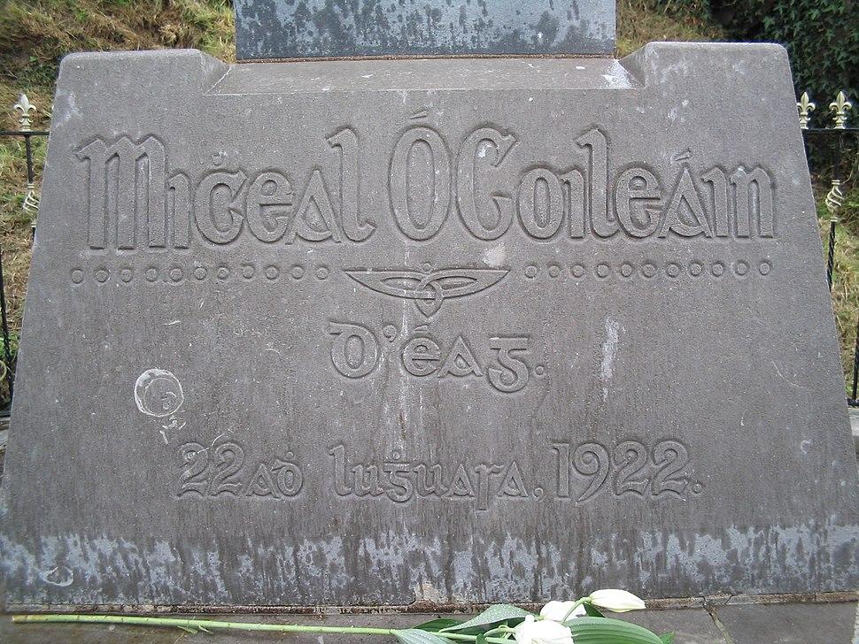 Grave of Micheál Ó Coileáin
