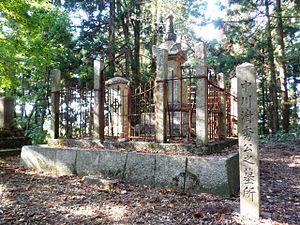 Nakagawa Kiyohide - Grave of Nakagawa Kiyohide