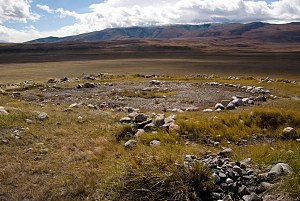 Steppe Route - Pazyryk culture : Grave of princess of Ukok (Kazakhstan)