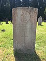 Gravestone of Leading Wren Marion Grace Melhuish of the Women's Royal Naval Service at Western Cemetery, Cardiff, May 2020.jpg