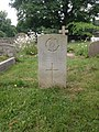 Gravestone of Private C.A. Moldram of the Royal Army Service Corps at Christ Church, Chorleywood, June 2015.jpg