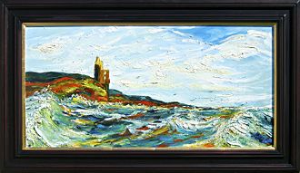 Greenan Castle - Greenan Castle by Kristina Macaulay