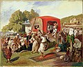 Grigory Gagarin. Outdoor Fete in Turkey. reproduction.jpg