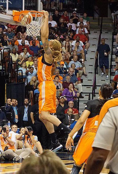 File:Griner dunking at 2015 All-Star game.jpg