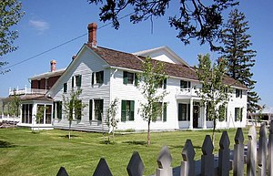 National Register of Historic Places listings in Powell County, Montana - Image: Grko ranchhouse 20060723174958