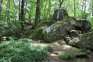 Grotte bei Wiesenfelden