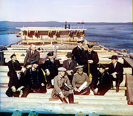 Group of Railroad Construction Participants