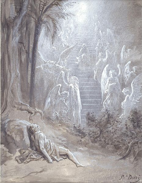 """File:Gustave Doré - Study for """"Jacob's Dream"""" - Walters 371319.jpg"""