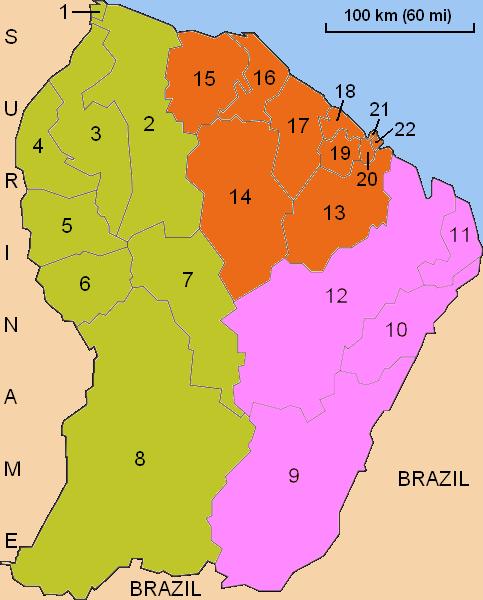 Guyane administrative