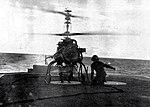 Gyrodyne QH-50 DASH drone aboard USS John R. Craig (DD-885), circa in 1966.jpg