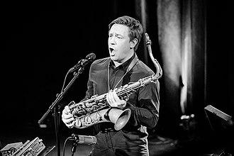 Håkon Kornstad - Håkon Kornstad at stage in 2018