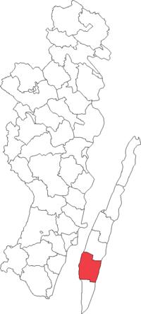 Mørbylang landskommune i Kalmar amt