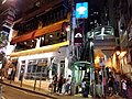 HK 中環 Central 香港蘇豪區 Soho night 依利近街 Elgin Street n 士丹頓街 Staunton Street October 2018 SSG 05.jpg