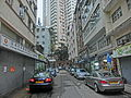 HK 大坑 Tai Hang 安庶庇街 Ormsby Street Third Lane sidewalk carpark view Winway Court Apr-2014.JPG