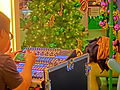 HK 觀塘 Kwun Tong 創紀之城五期 APM mall stage music panel controller war games Xmas Dec-2013.JPG