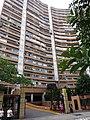 HK North Point Cloud View Road 峰景大廈 Hilltop Mansion entrance Nov-2015 DSC.JPG