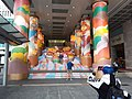HK TST 尖沙咀 Tsim Sha Tsui 海港城 Harbour City front square view Ocean Centre entrance stairs CNY 農曆新年 裝飾 decoration January 2020 SSG 08.jpg