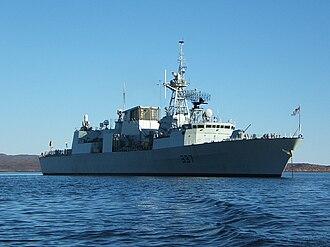 HMCS Fredericton (FFH 337) - Image: HMCS Fredericton