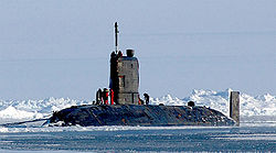 HMS Tireless am Nordpol