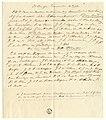 HUA-32564-Naamlijst van de leden van de burger erewacht te paard bij het bezoek van koning Willem II aan Utrecht op 18 mei 1841.jpg
