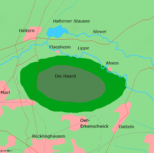 Map of the Haard