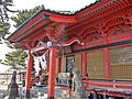 Haiden of Ikoahaywake-no-mikoto-jinja shrine 2.JPG
