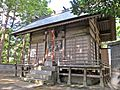 Haiden of Ise-oomikami shrine Kaminomiya.JPG