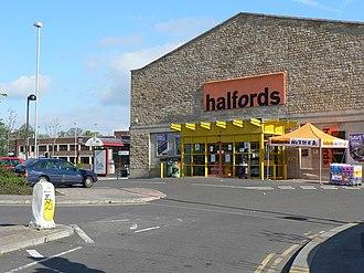 Halfords - A Halfords in Kirkstall, Leeds