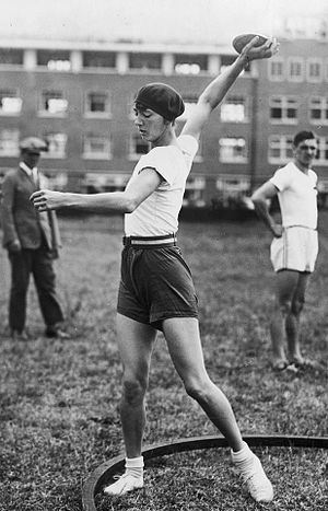 Halina Konopacka - Konopacka at the 1928 Olympics