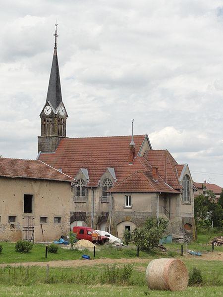 Halloville (M-et-M) église