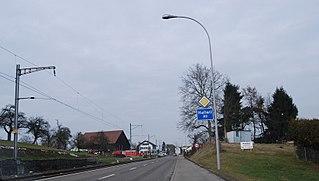 Hallwil Municipality in Switzerland in Aargau