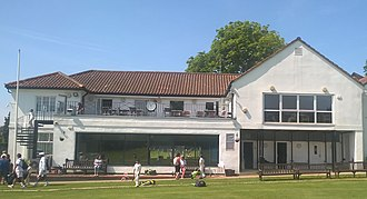 Hampstead Cricket Club - Clubhouse at Hampstead Cricket Club