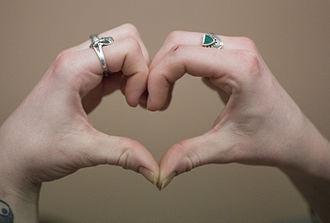 Hand heart - Hand heart