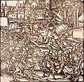 Hans Baldung Grien Ville assiégée pendant la guerre des Paysans 1525.jpg