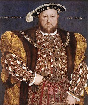 John Incent - Image: Hans Holbein d. J. Portrait of Henry VIII WGA11564