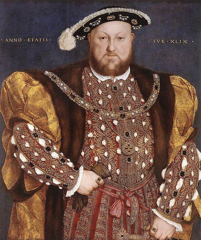 Genealogía de los Reyes Católicos 640px-Hans_Holbein_d._J._-_Portrait_of_Henry_VIII_-_WGA11564