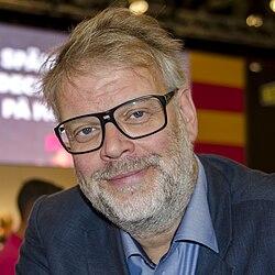 Hans Rosenfeldt på Bogmessen i Göteborg 2014