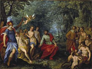 The contest of Apollo and Pan