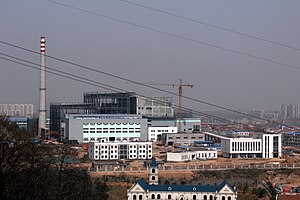 Electricity sector in China - Hanyang Guodingshan Waste to Energy Plant in Wuhan.