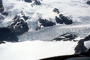 Ice field - Harding Icefield, Kenai National Wildlife Refuge