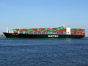 Hatsu Smile - IMO 9300415, leaving Port of Rotterdam, Holland 01-Jan-2005.jpg