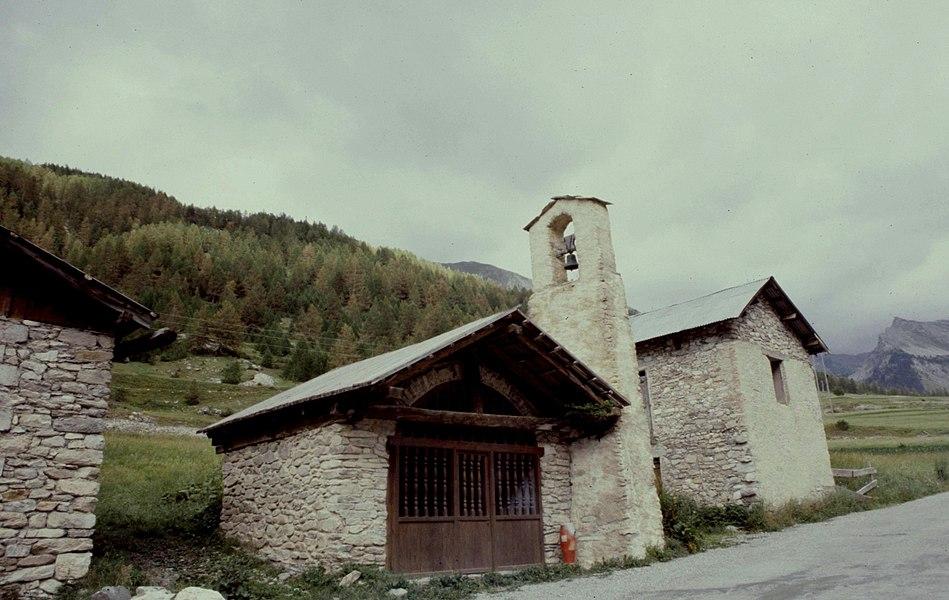 Hautes-Alpes Ceillac Pied Du Melezet Chapelle 071986