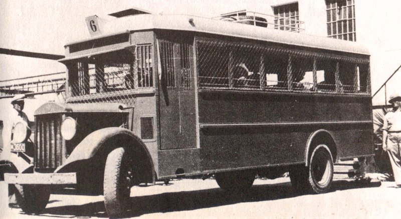 File:Havlagah bus during 1936-1939 Arab revolt-British Mandate of Palestine.jpg